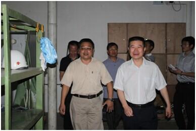 江苏海事局王秀峰副局长一行莅临海斯比调研考察